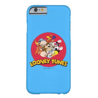 愚かいTUNES™のキャラクターのロゴ BARELY THERE iPhone 6 ケース
