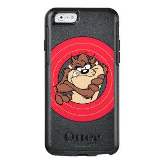 愚かいTUNES™の円を通したTAZ™ オッターボックスiPhone 6/6Sケース