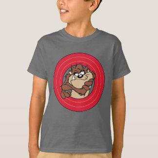 愚かいTUNES™の円を通したTAZ™ Tシャツ