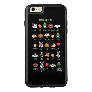 愚かいTUNES™ Emojiの図表 オッターボックスiPhone 6/6s Plusケース