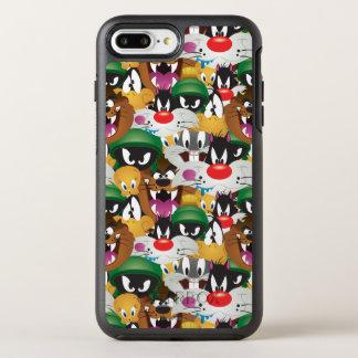 愚かいTUNES™ Emojiパターン オッターボックスシンメトリーiPhone 8 Plus/7 Plusケース