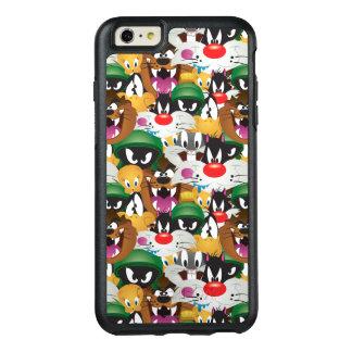 愚かいTUNES™ Emojiパターン オッターボックスiPhone 6/6s Plusケース