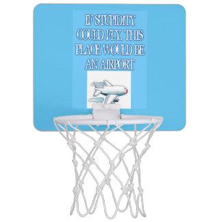 愚かさの小型バスケットボールのゴール ミニバスケットボールゴール