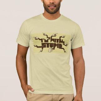 愚かとのim tシャツ
