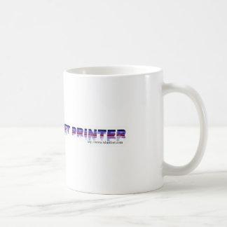 愚かなインクジェット・プリンタ! コーヒーマグカップ
