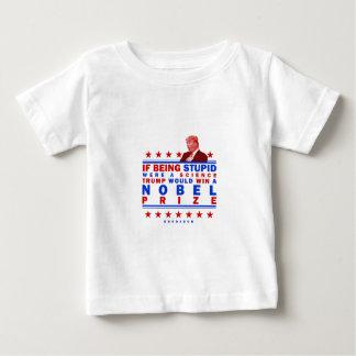 愚かなノーベル ベビーTシャツ