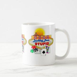 愚かなマグで倍増することを止めて下さい コーヒーマグカップ