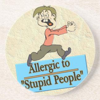 愚かな人々にアレルギー コースター