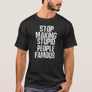 愚かな人々 Tシャツ