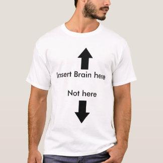 愚かな人(白い) Tシャツ