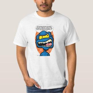 愚かな社会的な媒体の議論のCREACHER Tシャツ