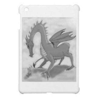 愚かな騎士(白黒) iPad MINIカバー