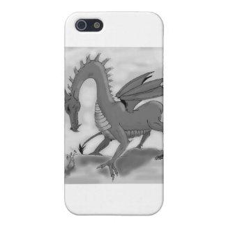 愚かな騎士(白黒) iPhone SE/5/5sケース