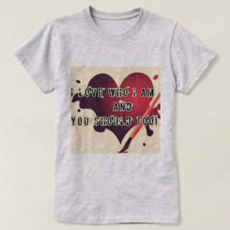愛あなた自身を示して下さい Tシャツ