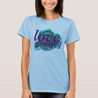 愛あなた自身ティー Tシャツ