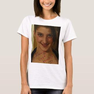 愛あなた自身常にサポート Tシャツ