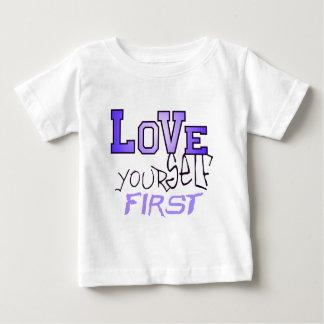 愛あなた自身第1 ベビーTシャツ