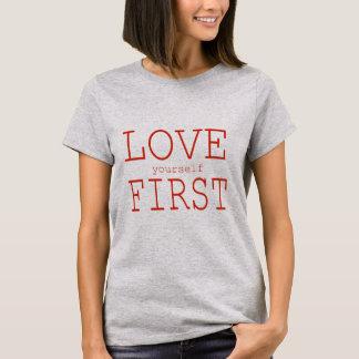 愛あなた自身第1 Tシャツ