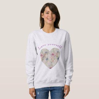愛あなた自身 スウェットシャツ