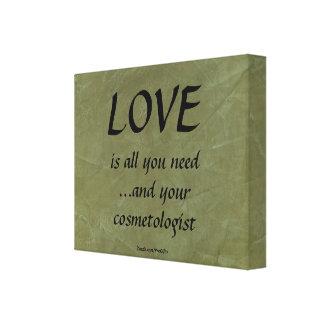 愛およびあなたの美容師 キャンバスプリント