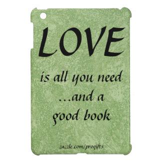 愛およびよい本 iPad MINIケース