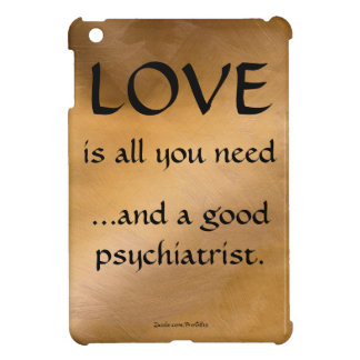 愛およびよい精神科医 iPad MINIケース