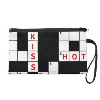 愛およびキスのクロスワード・パズルのデザイン リストレット