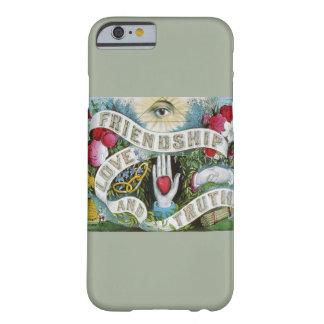 愛および友情|の電話箱 BARELY THERE iPhone 6 ケース
