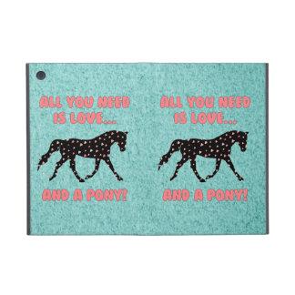 愛および子馬 iPad MINI ケース
