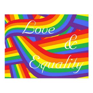 愛および平等 ポストカード