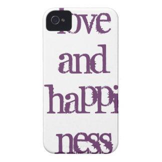 愛および幸福カバー Case-Mate iPhone 4 ケース