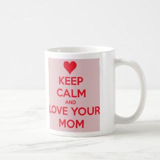 愛お母さん コーヒーマグカップ