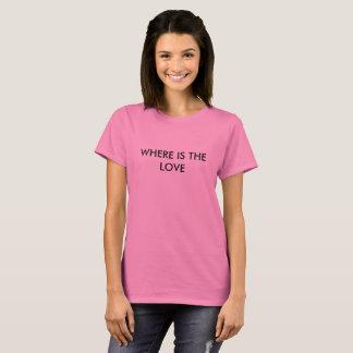 愛があるところ Tシャツ