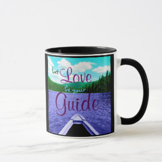 愛が湖のマグのあなたのガイドのカヌーがあるようにして下さい マグカップ