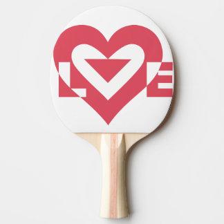 愛さくらんぼのピンク 卓球ラケット