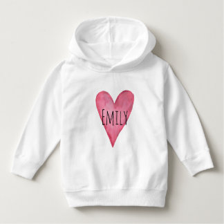 愛されたカスタマイズ可能な女の子のフード付きスウェットシャツです パーカ
