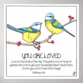 愛された鳥ポスター ポスター