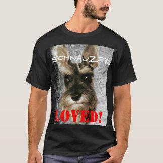 愛されるシュナウツァー! Tシャツ