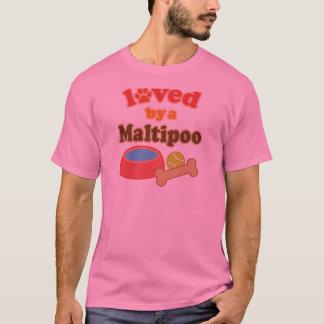 愛されるmaltipoo tシャツ