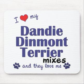 愛して下さい私のDandie Dinmontテリアの組合せ(数々のな犬)を マウスパッド