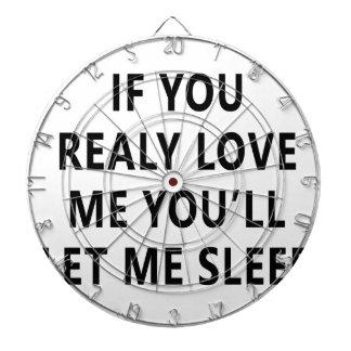 愛しますあなたが私が眠らせることを許可する私を中継で送ります ダーツボード