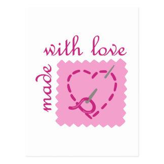 愛と作られる ポストカード