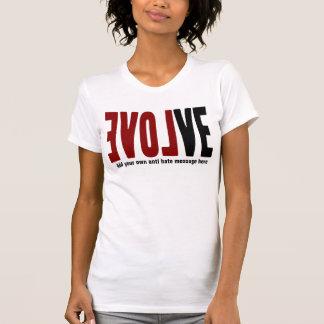 愛と展開させて下さい Tシャツ