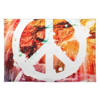 愛ない戦争の平和を作って下さい ランチョンマット