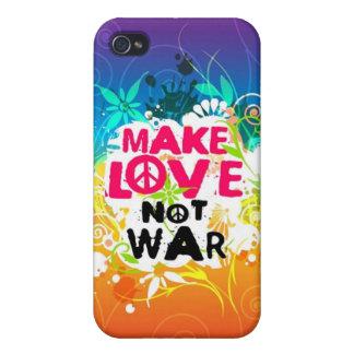 愛ない戦争のiPhone 4のSpeckの場合を作って下さい iPhone 4/4S ケース