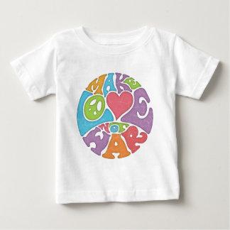 愛ない戦争をして下さい ベビーTシャツ