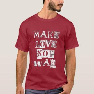 愛ない戦争をして下さい Tシャツ