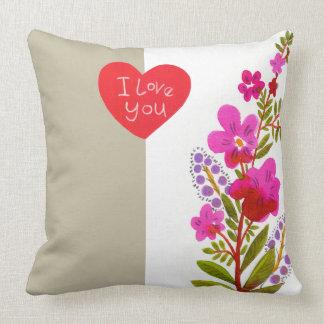愛によっては枕が開花します クッション