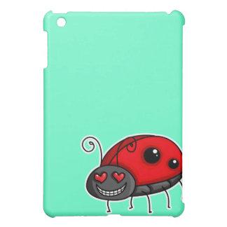 愛によって打たれるてんとう虫かてんとう虫 iPad MINIケース