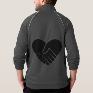 愛によって接続される黒 ジャケット